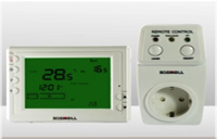 A thermostat control for the infrared heating panels