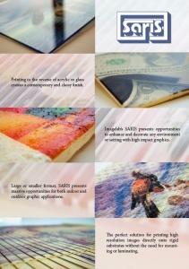 Brochure-UV Printer